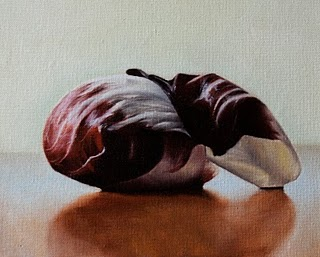 """Radicchio"" original fine art by Jonathan Aller"