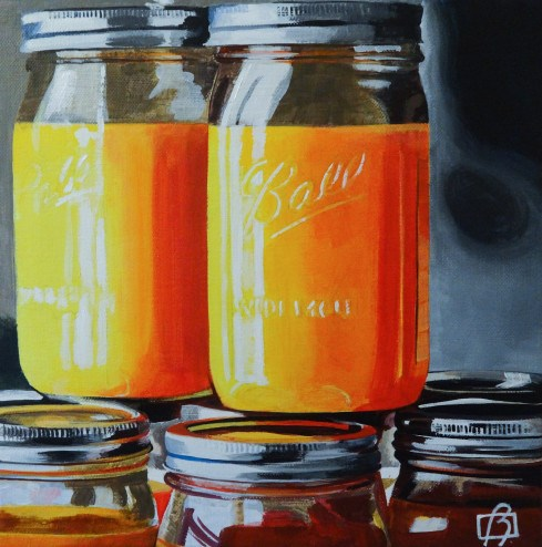 """Fresh Squeezed"" original fine art by Andre Beaulieu"