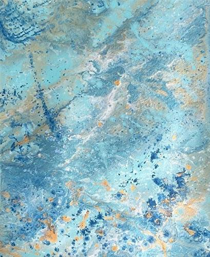 """Abstract Expressionism Painting,Coastal Abstract Coastal Abstract #10 by Colorado Contemporary Art"" original fine art by Kimberly Conrad"