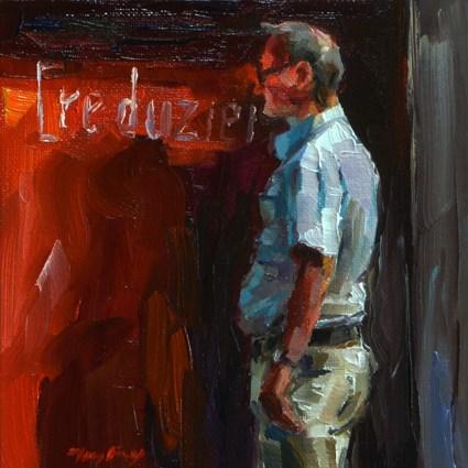 """reduced"" original fine art by Jurij Frey"