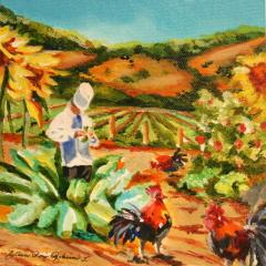"""The Soup"" original fine art by JoAnne Perez Robinson"