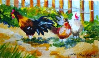 """Shootin' The Breeze"" original fine art by JoAnne Perez Robinson"
