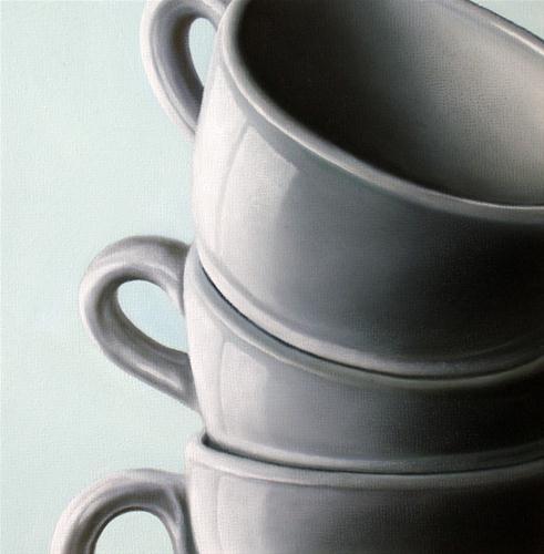 """Study: Porcelain"" original fine art by Jelaine Faunce"