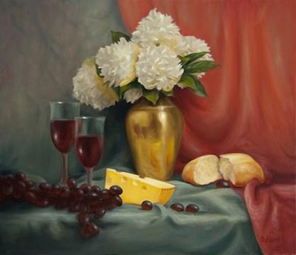 """""""Celebrate the Bloom #919"""" original fine art by Dee Lessard"""