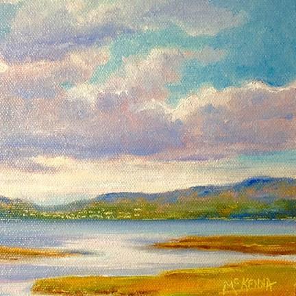"""""""River Foyle"""" original fine art by Judith McKenna"""