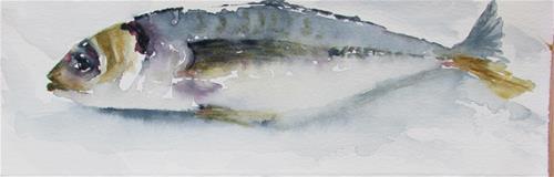 """Fresh from the sea"" original fine art by Yolanda Moreno"