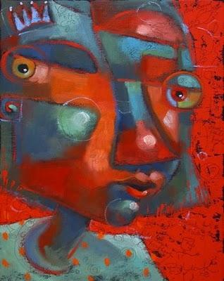"""""""Queen Doozie"""" original fine art by Brenda York"""