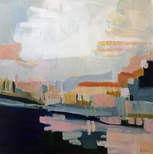"""Sunshine on Blue Water"" original fine art by Pamela Munger"