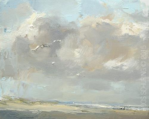 """New Seascapes!"" original fine art by Roos Schuring"