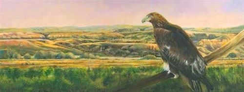 """Original Colorado Landscape Painting With Eagle Uncompahgre Gold by Colorado Artist Nancee Jean Bu"" original fine art by Nancee Busse"