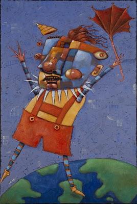 """Robert Regrets Having No Strings Attached"" original fine art by Brenda York"