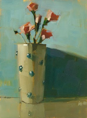 """Good Morning"" original fine art by Carol Marine"