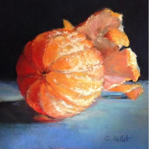 """Plump and Juicy"" original fine art by Cindy Gillett"