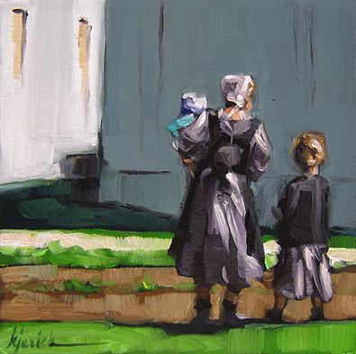 """""""Mother"""" original fine art by Karin Jurick"""