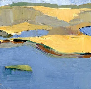 """""""#984 Tidal River"""" original fine art by Lisa Daria"""