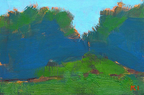 """Oklahoma Landscape"" original fine art by Kevin Inman"