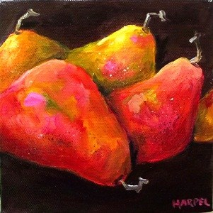 """The Gathering"" original fine art by Alice Harpel"