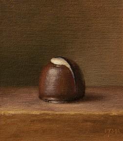 """Chocolate Truffle, 2013"" original fine art by Abbey Ryan"