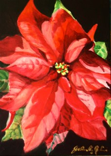 """Merry Ho-Ho!!"" original fine art by JoAnne Perez Robinson"