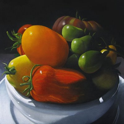 """Heirlooms  6x6"" original fine art by M Collier"