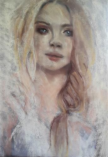 """""""Snow queen"""" original fine art by Rentia Coetzee"""