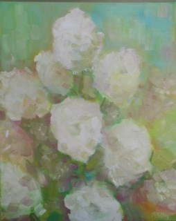 """Summer's End"" original fine art by Maggie Flatley"