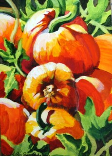 """October Fruit"" original fine art by JoAnne Perez Robinson"