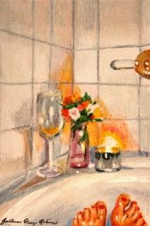 """""""Bare Necessities"""" original fine art by JoAnne Perez Robinson"""