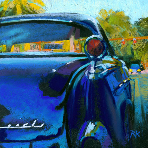 """Parked"" original fine art by Rita Kirkman"