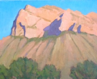 """Pusch Ridge"" original fine art by Bobbi Heath"