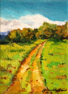 """My Morning Walk"" original fine art by JoAnne Perez Robinson"