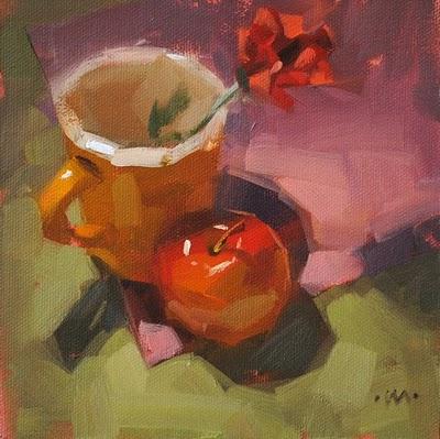 """""""Get Close"""" original fine art by Carol Marine"""