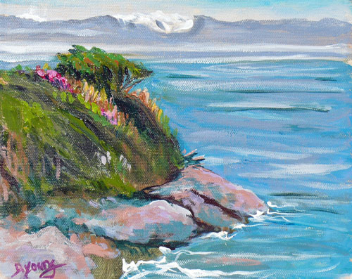 """Holland Point"" original fine art by Darlene Young"