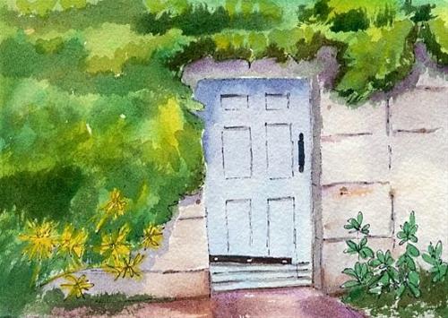 """Double Line Painters has a new website"" original fine art by Sue Furrow"