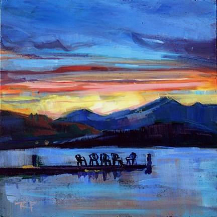 """Five In A Row"" original fine art by Robin Peterson"