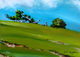 """Mindfullness"" original fine art by JoAnne Perez Robinson"