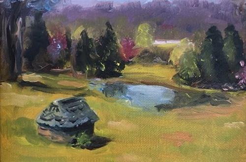 """Harpeth Westover Farm"" original fine art by Susan Elizabeth Jones"