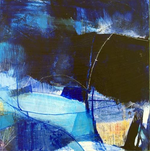"""""""First Light"""" original fine art by Gretchen Warsen"""