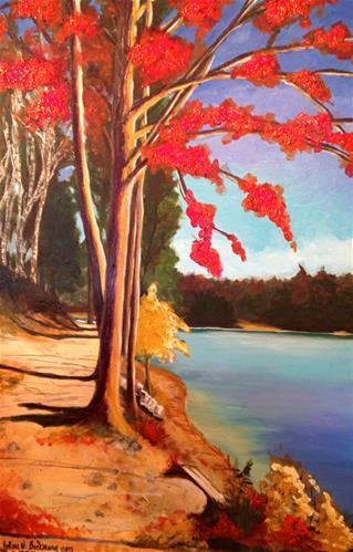 """""""Untitled"""" original fine art by Barbara Beckmann"""
