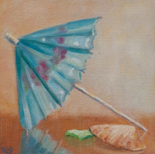 """Beach Days Ahead"" original fine art by Debbie Lamey-Macdonald"