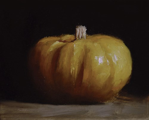 """Pumpkin"" original fine art by Neil Carroll"