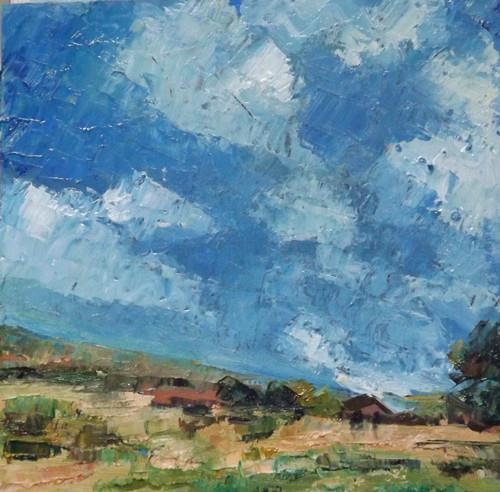 """Landscape,o7"" original fine art by Run-      Zhang Zane"