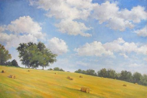 """""""ON THE EDGE An Original Oil Painting by Claire Beadon Carnell"""" original fine art by Claire Beadon Carnell"""