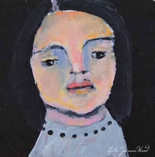 """""""Ester"""" original fine art by Katie Jeanne Wood"""