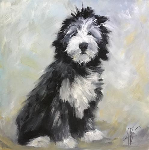"""Beautiful Boy"" original fine art by Annette Balesteri"