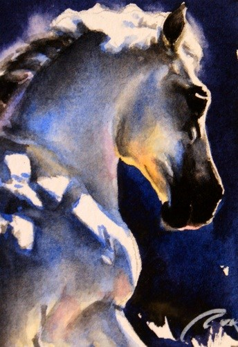 """Sun Spots"" original fine art by Crystal Cook"