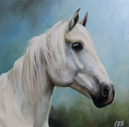 """Shades of Grey"" original fine art by ~ces~ Christine E. S. Code"