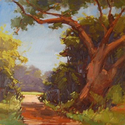 """The Narrow Path"" original fine art by Laurel Daniel"