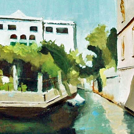 """VENICE, ITALY"" original fine art by Linda Popple"