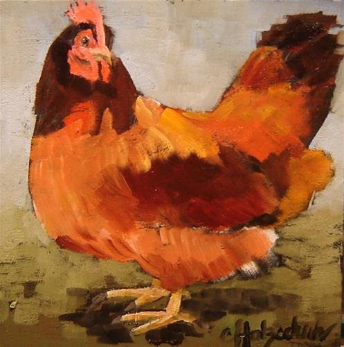 """Free Range"" original fine art by Christine Holzschuh"